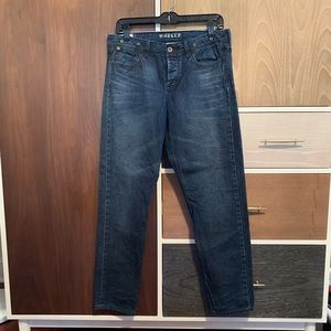 Madewell Rivet & Thread Worker Jean in size:27